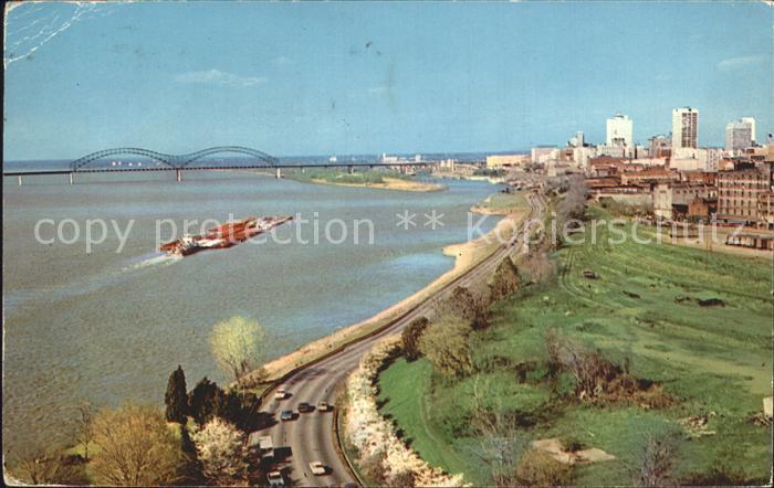 Memphis Tennessee Riverside Drive Kat. Memphis