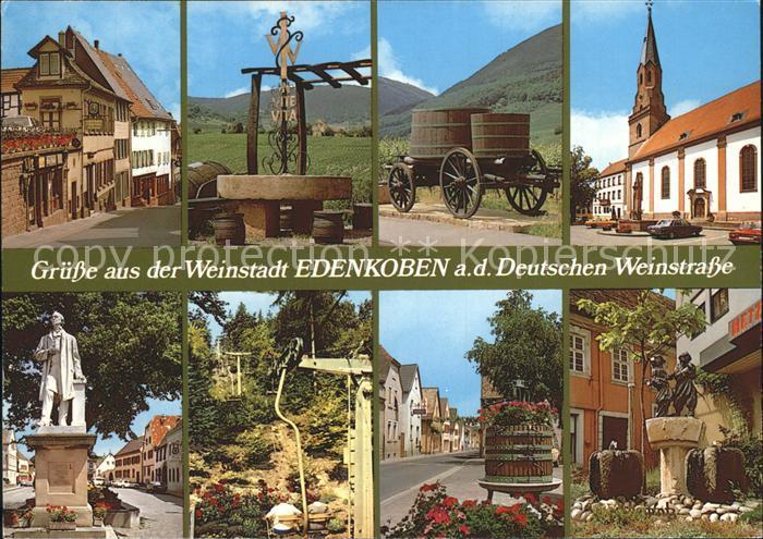 Edenkoben Deutsche Weinstrasse Kat. Edenkoben