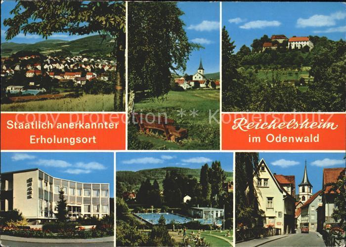 Reichelsheim Odenwald  Kat. Reichelsheim (Odenwald)