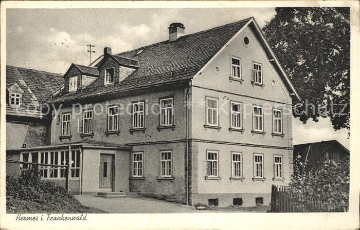 Hermes Marktleugast Schullandheim  Kat. Marktleugast