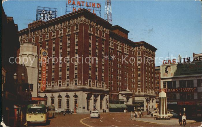 Grand Rapids Michigan Pantlind Hotel Kat. Grand Rapids