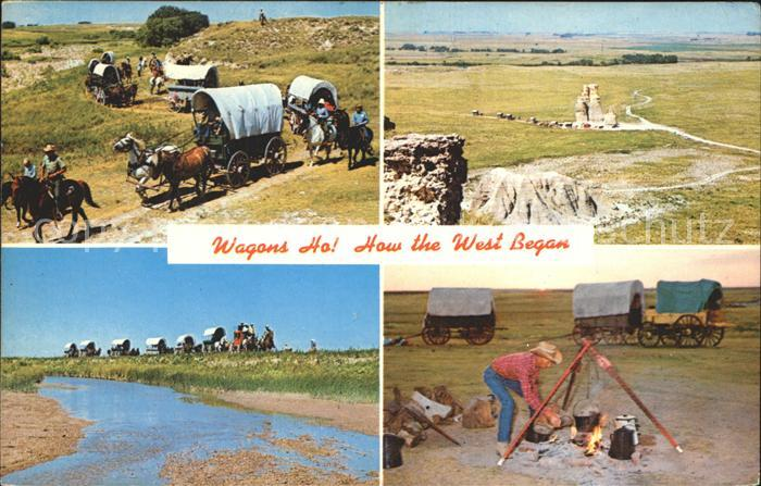Quinter Wagons Ho Kansas Covered Wagon Vacations  Kat. Quinter