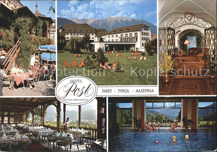 Imst Tirol Hotel Post Kat. Imst