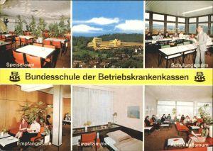 Rotenburg Fulda Bundesschule der Betriebskrankenkassen  Kat. Rotenburg a.d. Fulda
