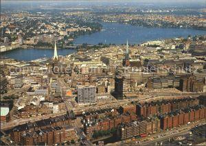 Hamburg Speicher am Hafen Binnen und Aussenalster Kat. Hamburg