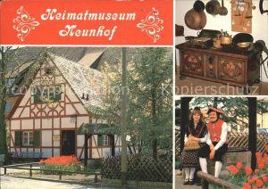 Neunhof Heimatmuseum Heimatverein Volkstrachtenverein Trachten Truhe Kat. Nuernberg