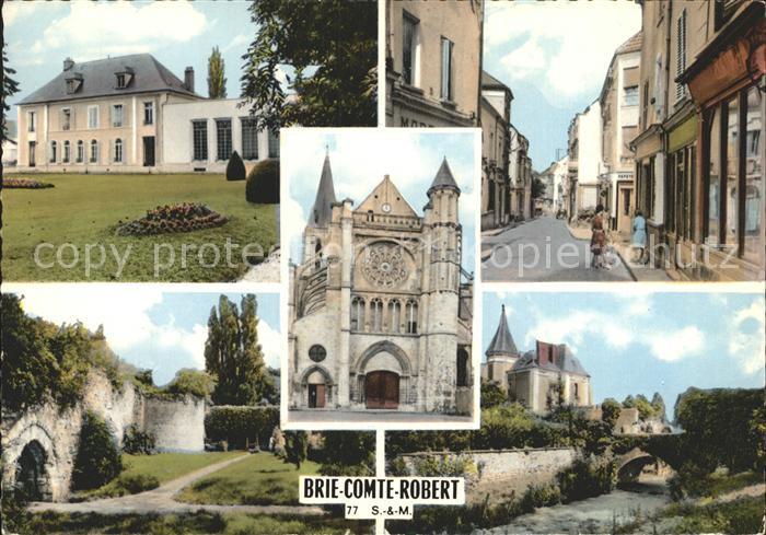 Brie Comte Robert Vues partielles Eglise Kat. Brie Comte Robert