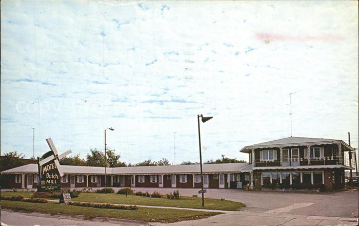 Oskaloosa Iowa Motel Dutch Hill Kat. Oskaloosa