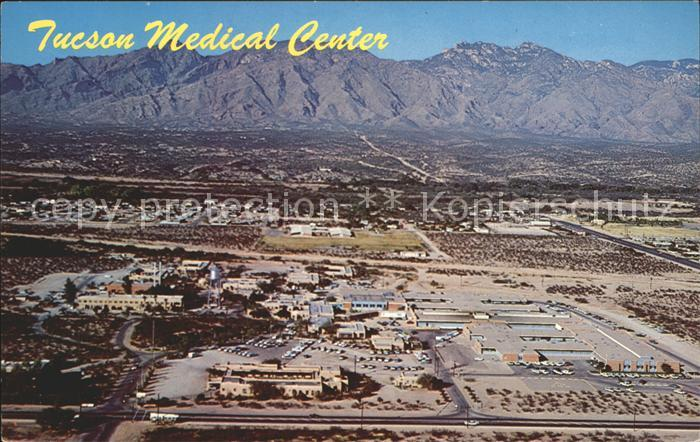Tucson Fliegeraufnahme Medical Center Hospital Kat. Tucson