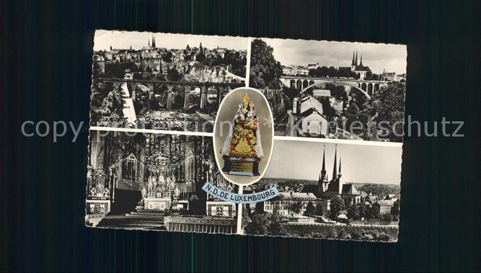 Luxembourg Luxemburg  Kat. Luxembourg