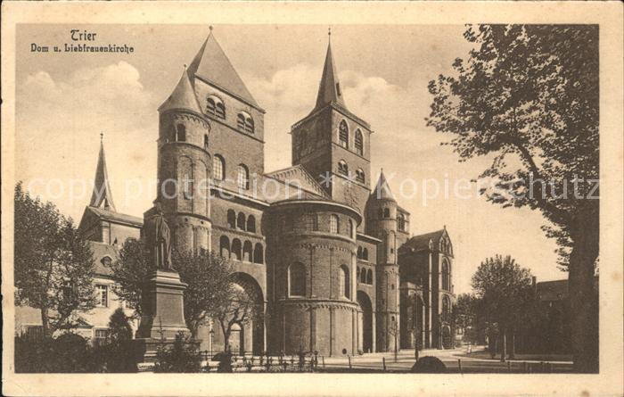 Trier Dom Liebfrauenkirche  Kat. Trier