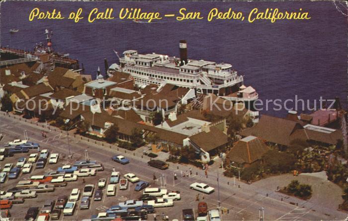 San Pedro California Ports Call Village  Kat. San Pedro