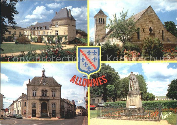 Allonnes Saumur Chateau Du Bellay Chapelle Russe  Kat. Allonnes