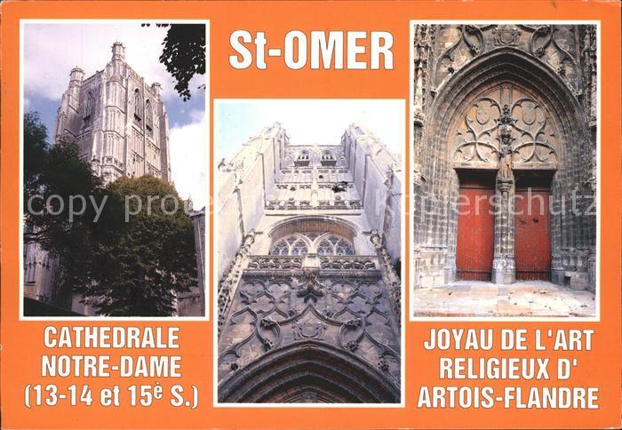 Saint Omer Pas de Calais Cathedrale Notre Dame Kat. Saint Omer