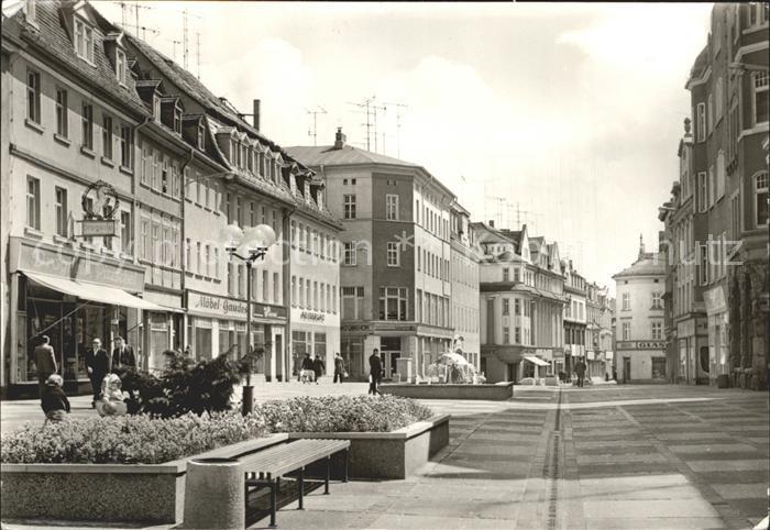 Zeitz Leninstrasse Wendische Strasse  Kat. Zeitz