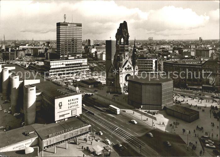 Berlin Europa Center Kaiser Wilhelm Gedaechtniskirche  Kat. Berlin