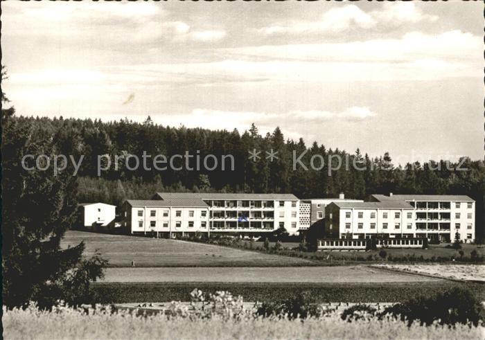 Bad Steben Sanatorium Frankenwarte  Kat. Bad Steben