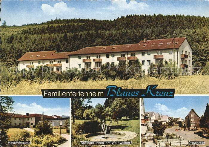 Holzhausen Siegerland Familienferienheim Blaues Kreuz Kat. Burbach