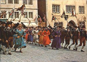 Rothenburg Tauber Historische Festspiele Schaefertanz  Kat. Rothenburg ob der Tauber