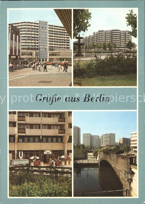Berlin Leipziger Strasse Spittelmarkt Biergarten Kat. Berlin