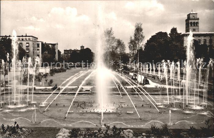 Karlsruhe Baden Wasserspiele auf dem Festplatz