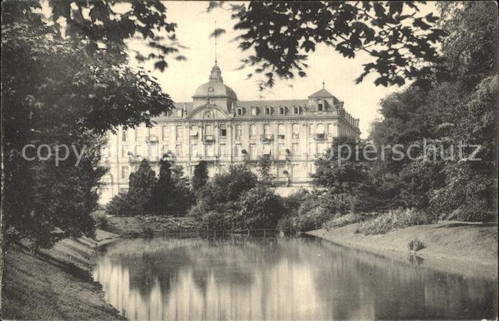 Duesseldorf Parkhotel Teich Kat. Duesseldorf