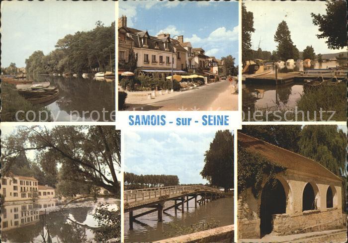 Samois sur Seine Au bas Samois Kat. Samois sur Seine