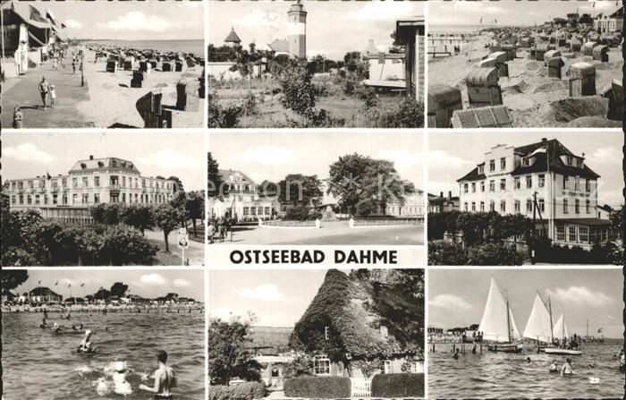 Dahme Ostseebad  Kat. Dahme