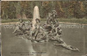 Versailles Yvelines Bassin des Amours Kat. Versailles