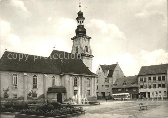 Meuselwitz Markt Kat. Meuselwitz Thueringen