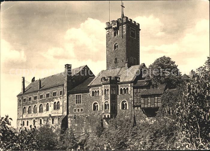 Wartburg Eisenach die Burg Kat. Eisenach