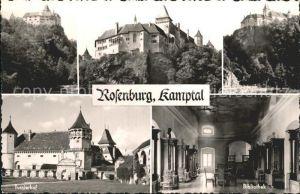 Rosenburg Mold Burg Rosenburg Kamptal Turnierhof Bibliothek Kat. Rosenburg Mold