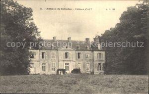 Le Breuil en Auge Chateaux du Calvados Kat. Le Breuil en Auge