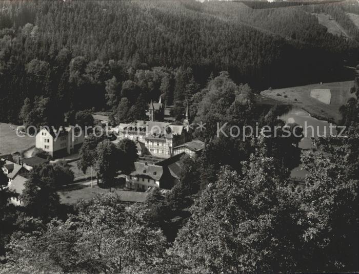 Walsburg FDGB Erholungsheim Marx Engels Kat. Ziegenrueck Thueringen