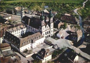 Ebersmunster Vue aerienne Eglise Abbatiale et couvent Kat. Ebersmunster