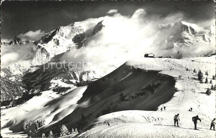 Mont Blanc Tempete sur le Mont Blanc Kat. Chamonix Mont Blanc