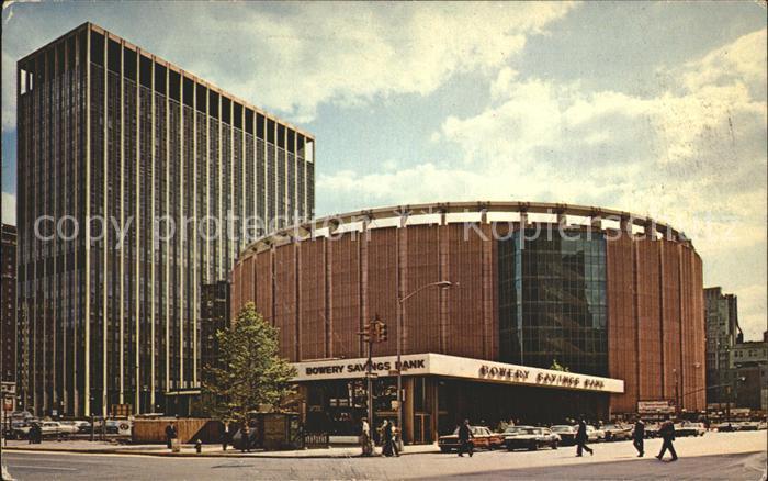 New York City Madison Square Garden Center / New York /