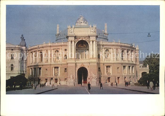 Odessa Ukraine Theater Oper / Odessa /