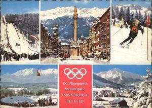 Innsbruck IX. Winterspiele Kat. Innsbruck