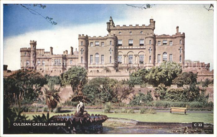 Ayrshire Culzean Castle Kat. Ayrshire