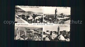 Oran Algerie Gare Port Promenade Mosquee Kat. Oran