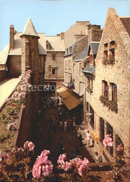 Le Mont Saint Michel La Grande Rue Kat. Le Mont Saint Michel