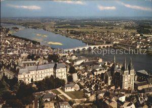 Blois Loir et Cher Fliegeraufnahme mit Loir Kat. Blois