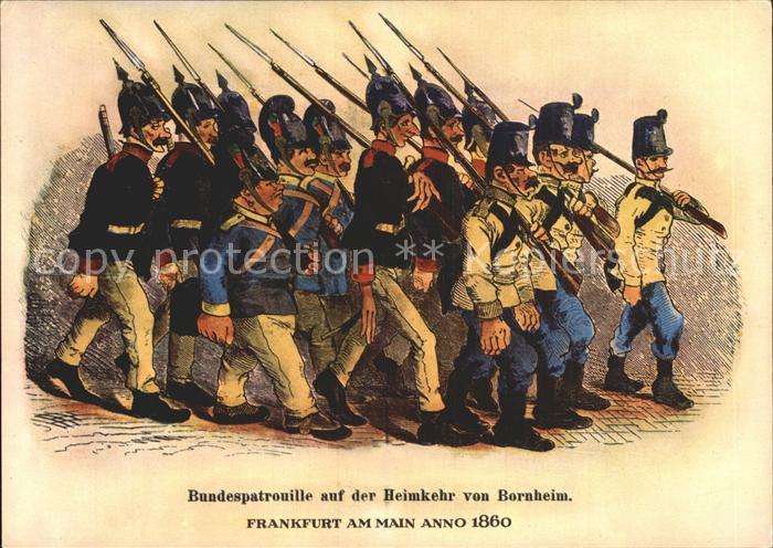 Bornheim Hessen Bundespatrouille Frankfurt am Main  Kat. Frankfurt am Main