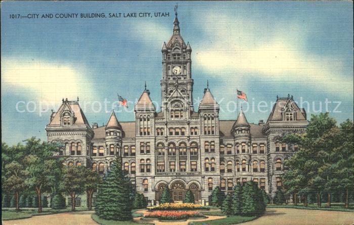 Salt Lake City City County Building  Kat. Salt Lake City