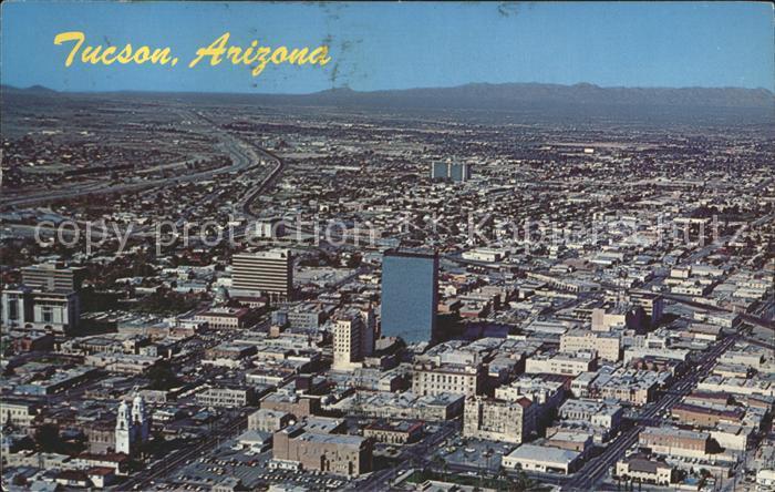 Tucson Fliegeraufnahme Kat. Tucson