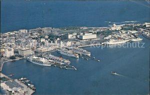 San Juan Puerto Rico Fliegeraufnahme Cruise Ships Old San Juan  Kat. San Juan
