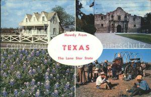 Texas City Eisenhower Birth Place Alamo San Antonio Kat. Texas City