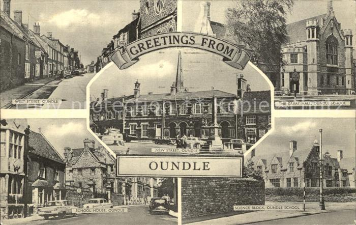 Oundle West Street School House Great Hall Kat. East Northamptonshire