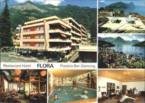 Vitznau Restaurant Hotel Flora  Kat. Vitznau
